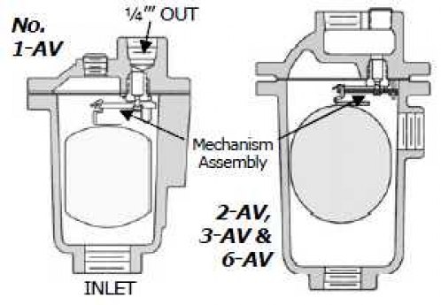 Armstrong Air Vent Diagram