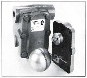 Barnes and Jones Series FTI2000 Float and Thermostatic Traps