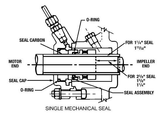 bell & gossett series e-1510 end suction centrifugal pumps double seal diagram double sink diagram