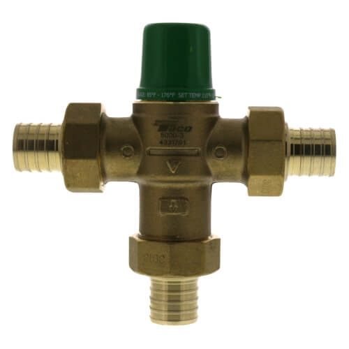3//4 Union Sweat Asse 1017 Taco 5003-C3 Thermostatic Mixing//Tempering Valve