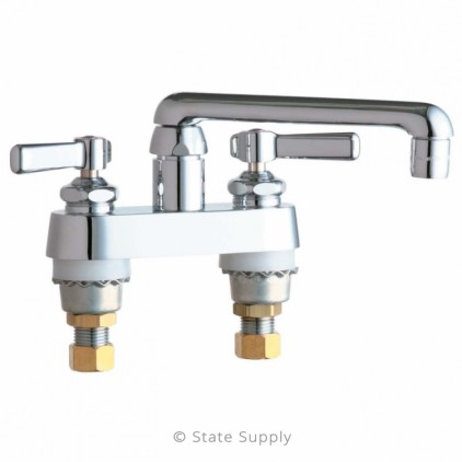 Chicago Faucets 891-ABCP - Lavatory/Bar Faucet, One Piece Deck Mounted