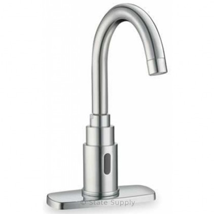 standard selectronic faucets polished chrome american faucet bathroom commercial proximity innsbrook centerset sloan