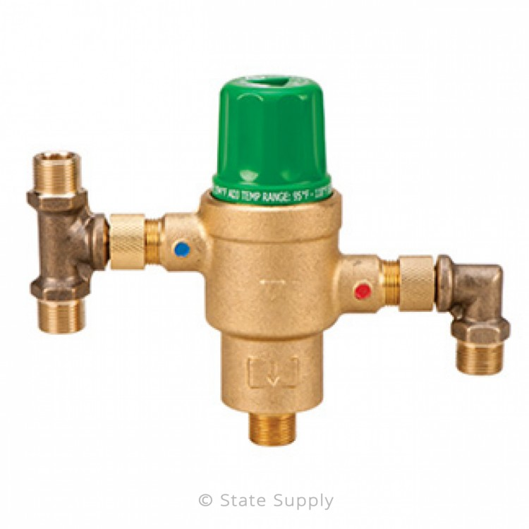 Taco 5121 F2 3 8 X 3 8 Thermostatic Mixing Valve