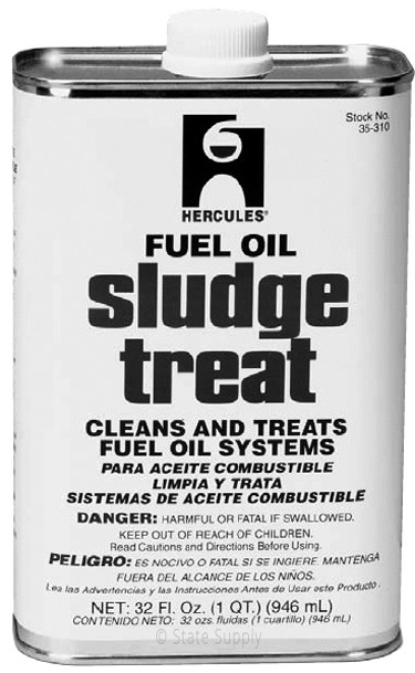 Hercules 35 310 Sludge Fuel Oil Tank Treatment 1qt