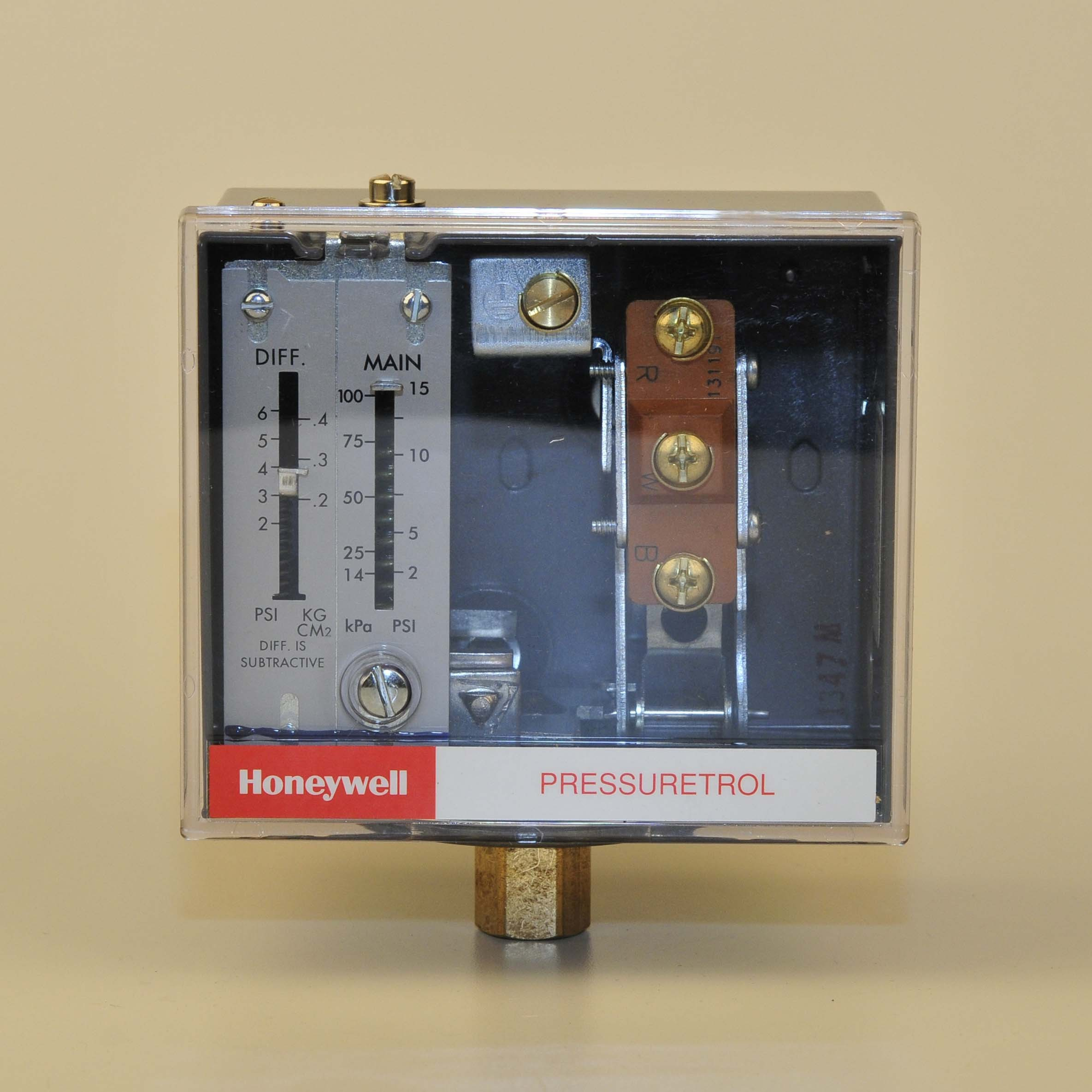 Honeywell Pressuretrol Steam Pressure Controls Thermostat Wiring With Two Wires
